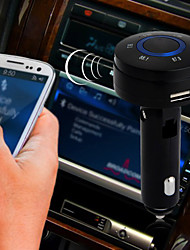 Wireless Bluetooth 3.0 Car Kit FM Transmitter Cigarette Lighter USB Charger