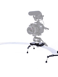 SK-CS01 1/3 Circle Camera Track Slider Dolly Video Camcorder Glide Cam for Canon Cameras