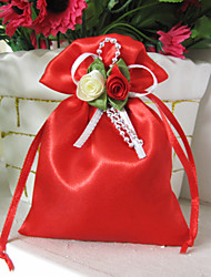 6 Piece/Set Favor Holder-Creative Satin Favor Bags Non-personalised