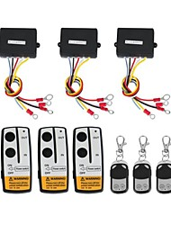 3 x Wireless Winch Remote Control Kit 12V for Truck Jeep SUV ATV