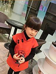 Vestido Chica de - Invierno / Otoño - Otros - Rojo