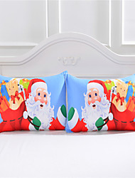 One Pair Pillow Cover Christmas New Year Decorative Pillowcase Unique Design