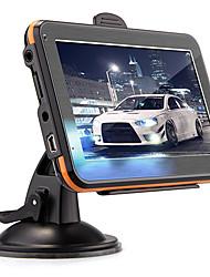 """coche de 4.3 """"táctil gps pantalla fm navegación 128mb ram 4gb tft + mapa america"""