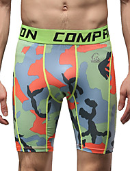 Running Bottoms Men's Breathable Running Sports Green S / M / L / XL