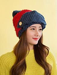 Women Cute  Acrylic Beanie Skullies Hats  LD00076