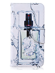 motif botter en cuir PU matériau carte flip pour Samsung Galaxy Note 5/4/3