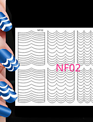78PCS Different Sizes Professional Making Pattern Nail Art Tool #02