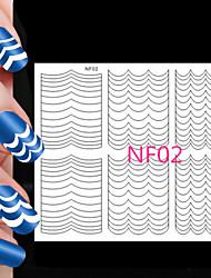 78pcs различные размеры профессиональная модель решений ногтей инструмент # 02