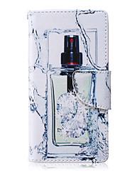 Botter modèle en cuir PU matériau carte flip pour Samsung Galaxy A3 / A5