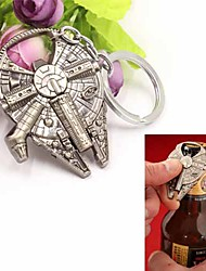 Star Wars millennium falcon garrafa liga metálica abridor