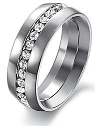 TY Men Ring , Party / Casual Alloy