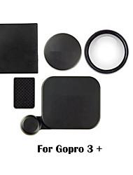 Accesorios GoPro Tapa de Objetivo Para Gopro Hero 3+ Plástico negro