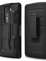 Pour Coque LG Antichoc Avec Support Coque Coque Arrière Coque Armure Dur Polycarbonate pour LG