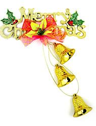 Letter card bell hanging ornament, color random delivery