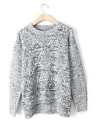 Women's Fashion Casual Cashmere Pullover Knit Sweater