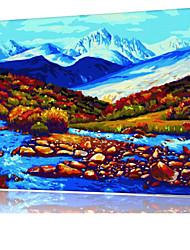 DIY digitales Ölgemälde Frame Familie Spaß Malerei alle von mir Fluss x5039