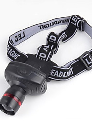 Lights Headlamps / Headlamp Straps LED 200Lumens Lumens 3 Mode LED AAA Compact Size / EmergencyCamping/Hiking/Caving / Everyday Use /
