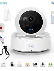 ptz snov® wifi survillance cámara del IP del IR, bebé monitor de la cámara wifi hd p2p con sensores de alarma 5pcs wirless sv-vpc3k3