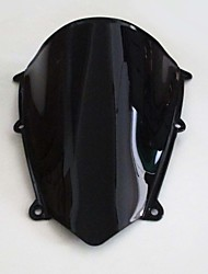 Motorcycle Windshield Black Windscreen for Honda CBR600RR 2007 2008 2009