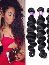 6A Filipino Virgin Hair Loose Wave 3PCS/ Lot Filipino Loose Wave Human Hair Weaves Unprocessed Human Hair Extensions