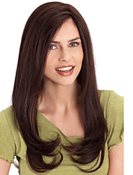 Fashion Natural Black Wavy High Quality Synthetic Wig