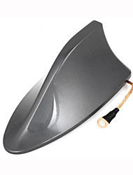 Plastic Shark Fin Design Adhesive Base Roof Decorative Antenna 16cm Long for Toyota RAV4