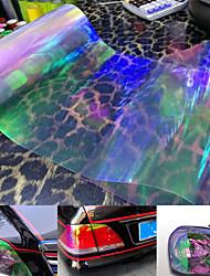 Car Auto Front Fog Tail Light Headlight Film Sheet Cover 60 x 30cm