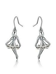 Damen Ohrring Legierung Kubikzirkonia Drop Earrings
