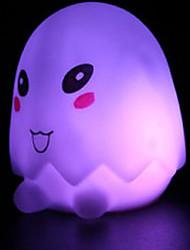 6*5.5*6.5CM Christmas Cute Cartoon Eggshell Small Night Lights Battery Small Lights LED Lamp