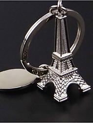 Eiffel Tower key chain car key pendant key ring high-grade metal craft