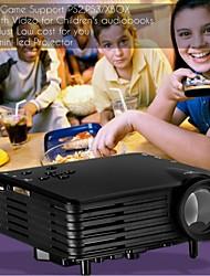 vivibright® série micro projecteur emp gp7s, avec HDMI / USB / SD / vidéo tout en un pour jeu vidéo