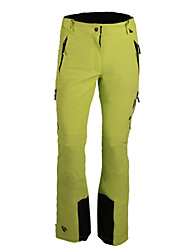 White Season Women's Warm Stretchable Waterproof Long Skiing Pant