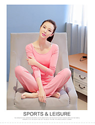 Yoga Pakken/Kledingsets Broek + Tops Ademend / Sneldrogend / Compressie / Lichtgewicht materiaal Rekbaar Sportkleding Dames - Overige Yoga