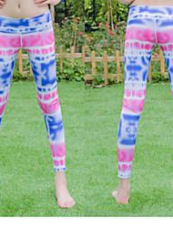 Löpning Underdelar Dam Antistatisk / Begränsar bakterier / Mjuk / Svettavvisande Nylon / Elastane Yoga Iyoga Stretch Sommar S / M / L