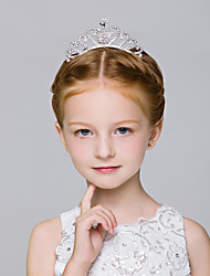 Flower Girl's Alloy Headpiece-Wedding / Special Occasion / Casual / Outdoor Tiaras / Hair Combs 1 Piece