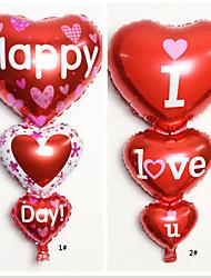 10 PCS Heart Shaped Balloons Wedding Birthday Party Decoration(Random Color)