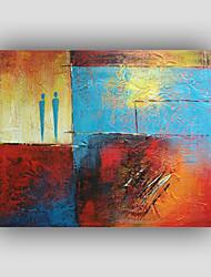 Peint à la main Abstrait / Célèbre / Nature morte / Fantaisie / LoisirStyle / Modern / Réalisme Un Panneau ToilePeinture à l'huile