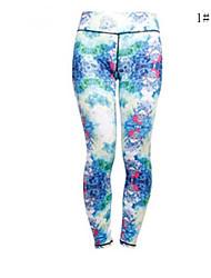 Course Bas / Leggings / Collants Femme Compression Yoga / Fitness Sportif Haute élasticité Serré Vêtements de Plein Air / Utilisation