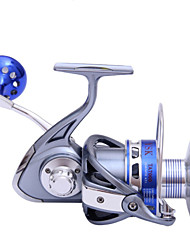 30KG Power Drag 5.5:1 8+1 Ball Bearings Spinning Reels Sea Fishing Boat Fishing Jigging Fishing Reel