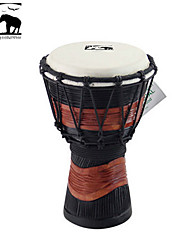 Sf Star of Africa  Indonesia Produce 7-Inch Carving Djembe-DPD30DH