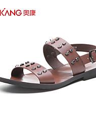 Aokang® Men's Leather Sandals - 141723028