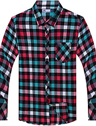 Men's Checkered Casual Smart Shirts