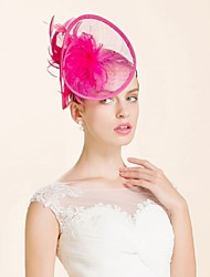 Women's Wool Headpiece-Wedding Special Occasion Headbands 1 Piece