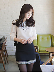 Women's Vintage Embroidery Long Sleeve Shirt