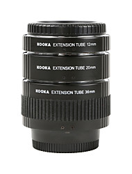 kooka kk-n68 Galvanik Messing Makro af Verlängerungsrohre für Nikon (12mm 20mm 36mm) SLR-Kameras eingestellt