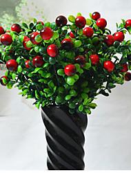 Mousse de polystyrène / Plastique Plantes Fleurs artificielles