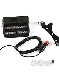 белый 18 светодиодов строб полиции аварийного мигающий свет для автомобиля