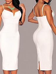 Women's Sexy Bodycon Camisole  OL Slim Dresses VICONE