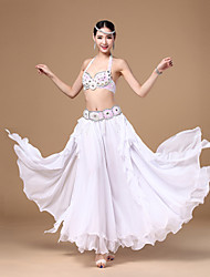 Belly Dance Tops / Bottoms / Outfits / Belt Women's Performance / Training Chiffon
