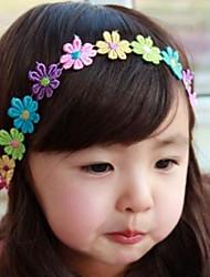 Kid's Colorful Lace Flower Elastic Headband